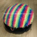 다채로운 고양이 장난감 매트 애완 동물 침대 둥근 개 매트 Midwest 차가운 개 침대