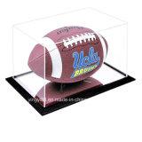 Protección UV acrílico Vitrina de fútbol