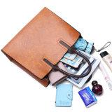 Nuova borsa delle donne del sacchetto di frizione del Tote dell'imbracatura del sacchetto di cuoio della signora PU di modo di stile