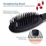 Escova de cabelo alisador LCD de cerâmica (Q20)