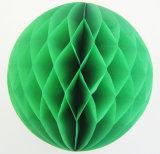 La moda en forma de panal de papel popular bola de partido y la decoración de boda