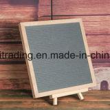 Panneau en bois de lettre de hêtre annonçant le panneau de lettre de feutre 10 x 10 pouces