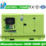 Standby 28kVA Cummins Electric Generator Trailer card Standard with Low Noise