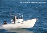 De Glasvezel die van Liya 25FT de Vissersboot van de Glasvezel van de Boot Panga vissen