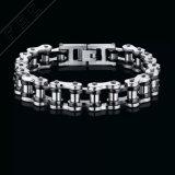 Bracelet titanique de vente chaud de maillon de chaîne de vélo de moto pour les hommes