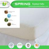 El fallo de funcionamiento de base de la tela de Terry del ácaro del Anti-Polvo del surtidor de China ajustó la cubierta del protector del colchón del estilo