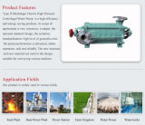 Pompa centrifuga a più stadi orizzontale per industria estrattiva
