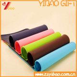 Esteras grandes de encargo de la yoga del silicón de la talla, estera de los deportes (XY-SP-165)