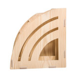 Bricolaje madera material de oficina organizador de escritorio