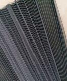 Color de la pantalla, de 18X16, del 1.6cm de la altura, de los 30m de la longitud, gris o negro de la ventana de la fibra de vidrio de la puerta del Plisse