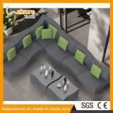 여가 Hotel 또는 Home Waterproof Modern Uphostery Fabric Sofa Set Lounge Chair Outdoor 정원 Furniture