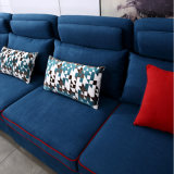 파란 직물 소파 호텔 거실 현대 침실 가구 Fb1149
