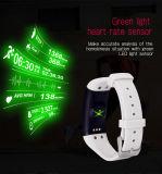Premier sommeil sec de sports de bande de bracelets de forme physique contrôlant le bracelet intelligent