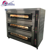 Elektrisches grosses Bäckerei-Geräten-Holz abgefeuerter Pizza-Ofen-Gas-Doppelt-Plattform-Ofen Tandoor Ofen-Preis