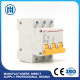 Mini corta-circuito del fabricante Dz47 1p 20A, corta-circuito del carril MCB del estruendo del voltaje de la sobrecarga