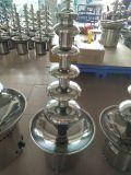 5 fontane del doppio del cioccolato dell'acciaio inossidabile delle file per buffet