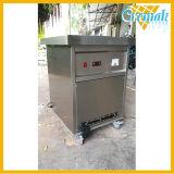 6 contenedores de frutas hielo Máquina de rodillos con controlador de temperatura