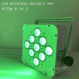 1개의 LED 동위 빛에 대하여 9*15W RGBWA UV 6