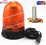 PC Lens Magnetic Halogen GEAR Motor Revolving Warning Light for Trucks