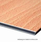 PVDF Met een laag bedekt van het Comité van het Aluminium Samengesteld ACS- Blad Van uitstekende kwaliteit