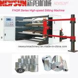 Hochgeschwindigkeits-PLC-Steuerplastikfilm-aufschlitzende Papiermaschine