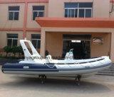 Liya 5.2mの中央コンソールの堅く膨脹可能な肋骨のボート