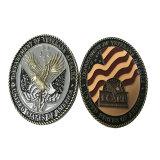 Seil-Schnitt-Rand-Antike-Bronzen-Marine-Herausforderungs-Münzen