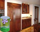Des meubles foncés en bois Peinture réel pour l'intérieur