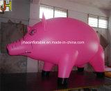 Kundenspezifischer aufblasbarer Schwein-Helium-Ballon für das Bekanntmachen