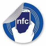 Balise NFC passive à haute fréquence/papier autocollant