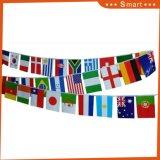 precio de fábrica de 100 países de la bandera de cadena para la Copa Mundial de Rusia