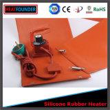 chaufferette de pétrole flexible de tambour de silicones de 220V 1200W 250*1600