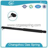 Levage de gaz en plastique noir de piston de Qpq d'ajustage de précision d'extrémité pour le capot de véhicule