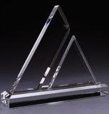 会社の鉛のトロフィのための個人化された絶妙で明確な水晶賞のトロフィ