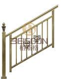 工場製造特別なデザインステンレス鋼の手すりおよび階段柵