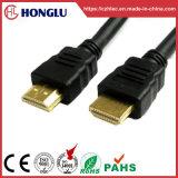 Maschio HDMI del rivestimento di PVC al cavo maschio di HDMI (SY085)