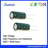 250V 22UF de Elektrolytische Hoge Frequentie van de Levering van China van de Condensator