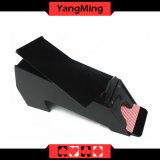 O negociante dedicado tradicional do póquer de 8 plataformas calç as sapatas pretas acrílicas Ym-Ds03 do negociante