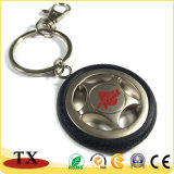 Corrente chave da roda creativa do veículo do Keyring da roda do carro