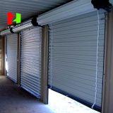 Obturador de aluminio del rodillo del garage de la residencia con la puerta eléctrica del motor (Hz-FC0563)