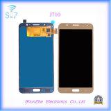 Contraluz elegante LCD de la pantalla táctil del teléfono celular para Samsung J710 2016