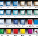 يلوّن/زرقاء/حمراء/اللون الأخضر/واضحة موازية يشكّل قالب زجاجيّة