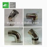 Gomito del corrimano della scala dell'acciaio inossidabile per il tubo