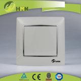 Interruttore NERO della parete di MODO variopinto del piatto certificato CE/TUV/CB 1 di standard europeo