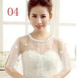 Болеро шали обруча куртки оптового шнурка Bridal для платья венчания
