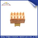 Präzisions-Automobil-Teil-Plastikspritzen-CNC kundenspezifisches Elektroden-Teil