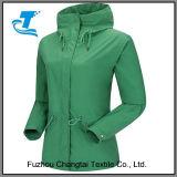 As mulheres à prova de vento Softshell Jacket para exterior