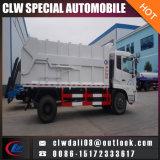 carro de basura del muelle 12-14cbm, carro de basura del compresor
