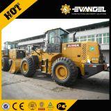 5 Tonnen-Rad-Ladevorrichtung Zl50g mit Shanghai/Weichai Motor