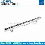 Wasserdichtes 24W RGB 3 in 1 LED-Wand-Unterlegscheibe-Licht